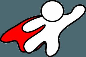 Hilft immer: Superheld für DSGVO und Datenschutz