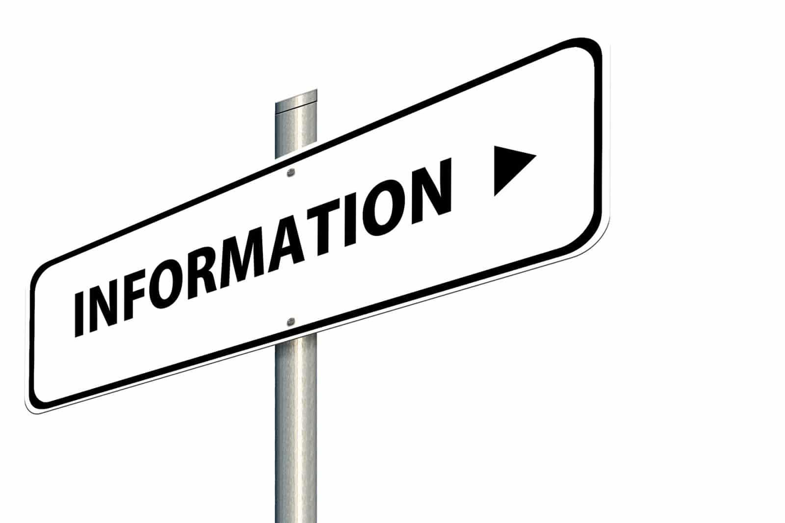 Auskunftsanspruch und Informationsanspruch